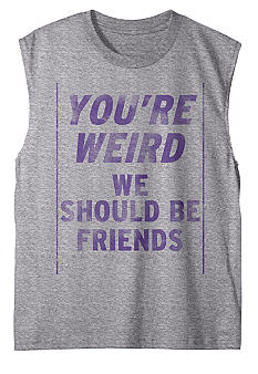 Hybrid You're Weird Muscle Tee