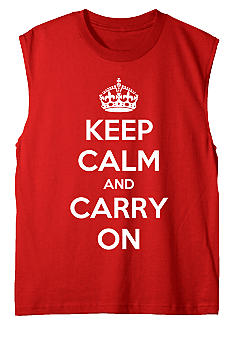 Hybrid Keep Calm Muscle Tee