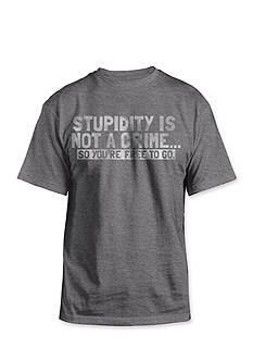 Hybrid™ Stupidity is not a Crime T-shirt