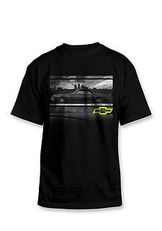 Hybrid™ Chevy Logo and City Short Sleeve Graphic Tee