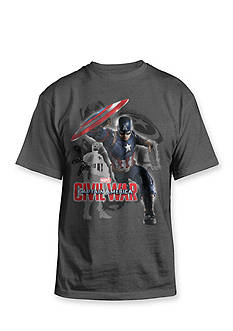 Hybrid™ Freedom Fighter Captain America® Graphic Tee