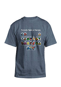 Hybrid™ Marvel Periodic Table of Heroes Graphic Tee