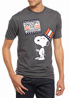 Hybrid™ Snoopy® For President Graphic Tee