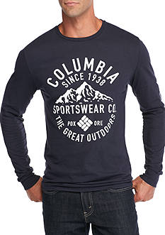 Columbia Long Sleeve Reaper Mountain Graphic Tee