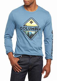 Columbia Long Sleeve Robinson Mountain Graphic Tee