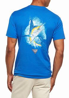 Columbia PFG Short Sleeve Great Catch Marlin Graphic Tee