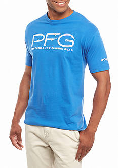 Columbia PFG Short Sleeve Hooks Graphic Tee