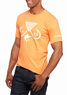 Columbia PFG Short Sleeve Tenenbaum Hook Logo Graphic Tee