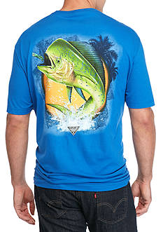 Columbia Big & Tall Dorado Fish Graphic Tee