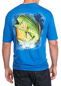 Columbia Big & Tall Dorado Fish Graphic Tee