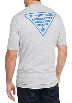 Columbia Big & Tall PFG Triangle Short Sleeve Graphic Tee