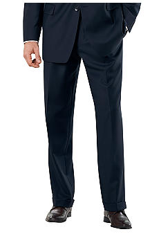 Nautica Navy Herringbone Suit Separate Pants