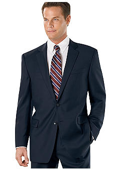 Nautica Navy Herringbone Suit Separate Coat