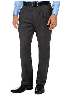 Nautica Charcoal Plaid Suit Separate Pants