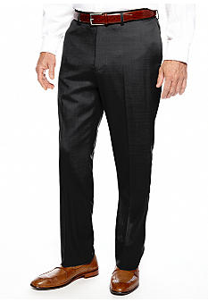 Nautica Gabardine Flat Front Dress Pants