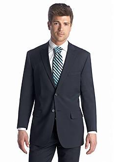 Nautica Wrinkle Resistant Blue Stripe Jacket