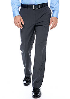 Nautica Classic Fit Charcoal Tic Suit Separate Pants
