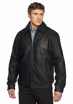 Nautica Big & Tall Lamb Blouson Jacket