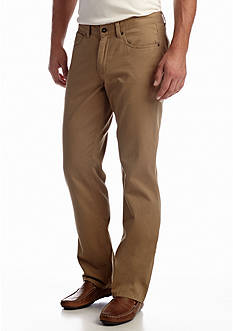 Ocean & Coast® Straight Fit Austin Flat Front Pants