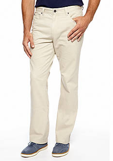 Ocean & Coast Straight Fit Austin Flat Front Pants