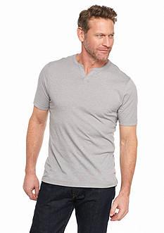 Ocean & Coast Short Sleeve Jasper Split Neck T-Shirt