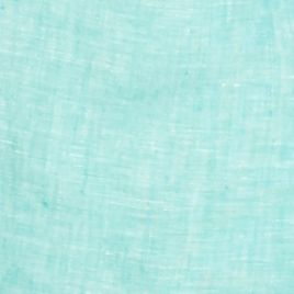 Mens Plain Long Sleeve Shirts: Turquoise Foam Ocean & Coast Long Sleeve Solid Linen Woven Shirt
