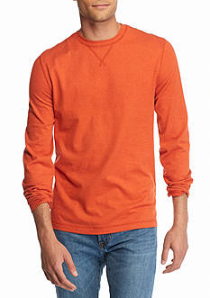 Ocean & Coast Long Sleeve Jaspe Crew Neck Shirt