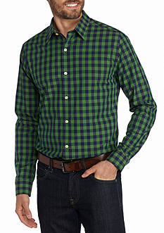 Saddlebred 1888 Long Sleeve Non Iron Medium Gingham Shirt