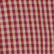 St Patricks Day Outfits For Men: Plum Wine Saddlebred 1888 Long Sleeve Mini Gingham Non-Iron Shirt