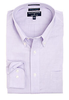 Saddlebred 100% Cotton Wrinkle-Free Dress Shirt