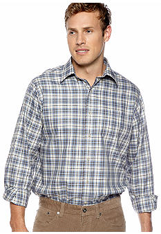 Black Brown 1826 Picasso Plaid Shirt
