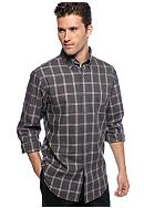 Black Brown 1826 Ansel Plaid Shirt