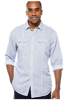 Black Brown 1826 Capital Check Shirt