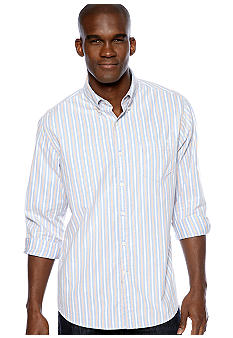Black Brown 1826 Multi Stripe Oxford Shirt