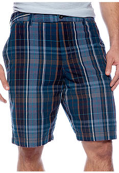 Black Brown 1826 Pensacola Plaid Short