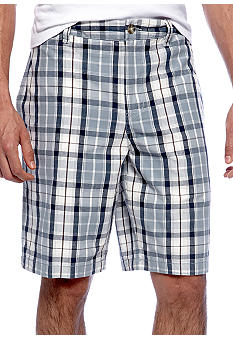 Black Brown 1826 Daytona Plaid Short