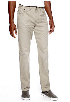 Black Brown 1826 Five-Pocket Washed Pants