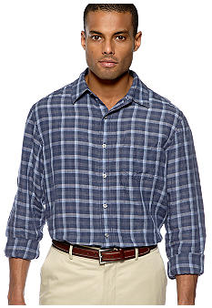 Black Brown 1826 Optic Plaid Shirt