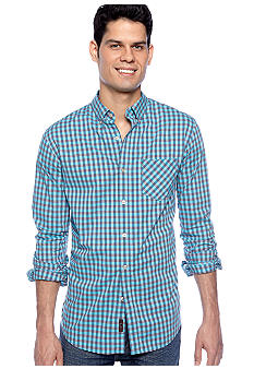 Black Brown 1826 Liberty Gingham Shirt