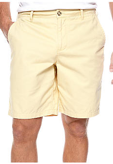 Black Brown 1826 Cotton Twill Shorts