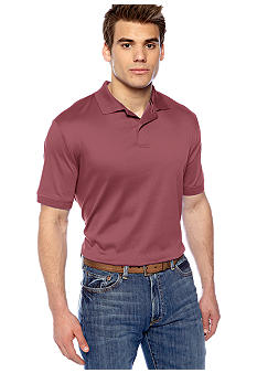 Black Brown 1826 Liquid Cotton Polo Knit