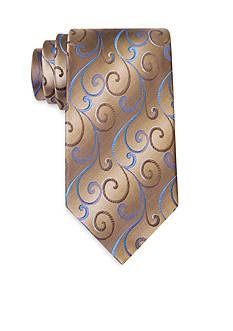 Van Heusen Swirly Vines Classic Tie