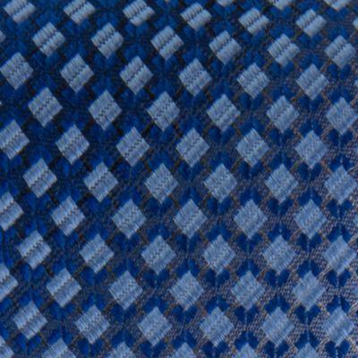 Young Men: Van Heusen Accessories: Blue Van Heusen Square Un-Solid Solid Tie