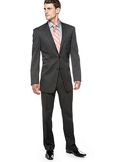 Marc Ecko Slim Fit Black Pin-dot Suit Separate Coat