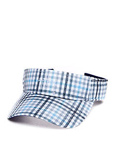 Guy Harvey Plaid Fish Visor