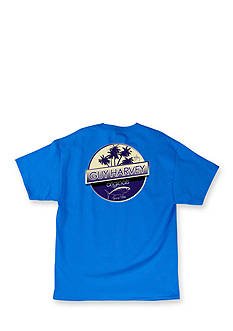 Guy Harvey Short Sleeve Tuna Boat Graphic Tee