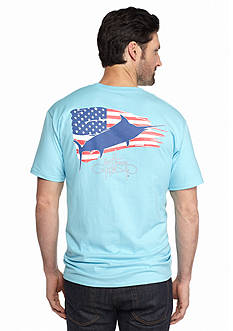Guy Harvey Short Sleeve Patriot Graphic Tee