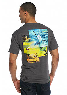 Guy Harvey Short Sleeve Tropical Star Graphic Tee