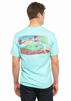 Guy Harvey Short Sleeve Stingray City Graphic Tee