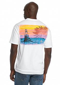 Guy Harvey Short Sleeve Gulf Stream Graphic Tee